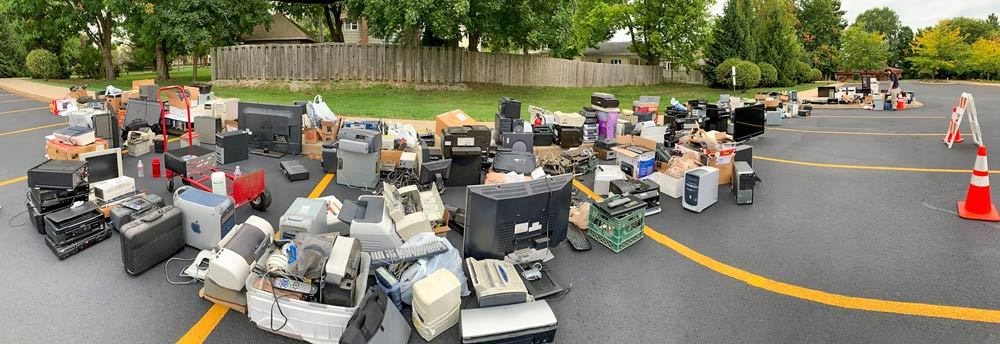Partnership with Kendallville Public Library for eWaste Recycling